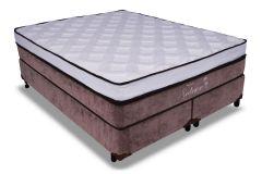 Colchão Probel de Molas Prolastic Solene Double System Euro Pillow Viscoelástico