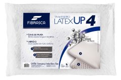 Travesseiro Fibrasca Látex UP4 Dupla Face c/ Massageador
