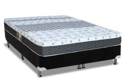 Cama Box Base Universal Nobuck Nero Black 20