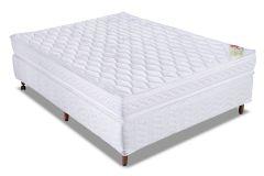 Colchão Orthocrin de Espuma D33 Royal Plus Euro Pillow Pró Saúde Duplo Selo INMETRO e INER