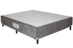 Cama Box Base Paropas Inovare Chenile Black